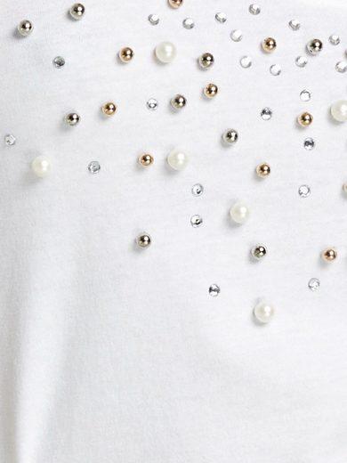 ASHLEY BROOKE by Heine T-Shirt mit Schmuckapplikation