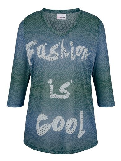 MIAMODA Shirt in Ausbrenner-Qualität