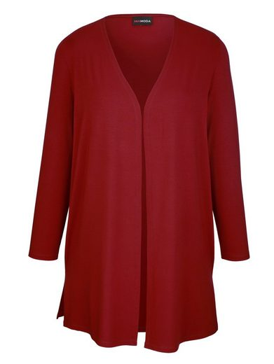 MIAMODA Shirtjacke aus Viskose-Stretch-Material