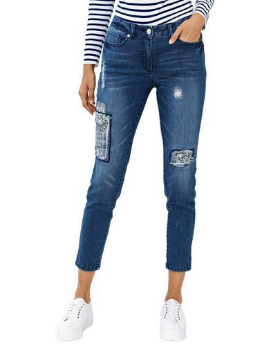 Amy Vermont Jeans mit destroyed Effekten