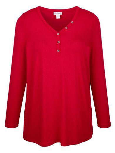 MIAMODA Shirt in vielseitig kombinierbarem Basic Stil