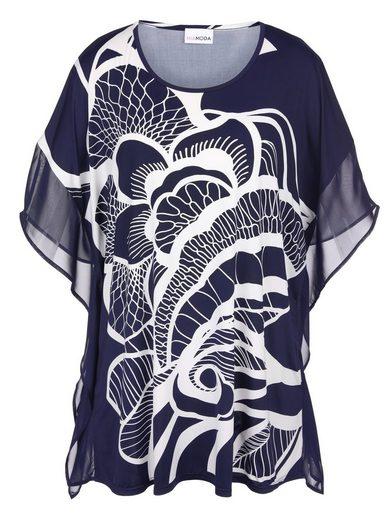 MIAMODA Tunika aus weich fließender Shirt-Qualität