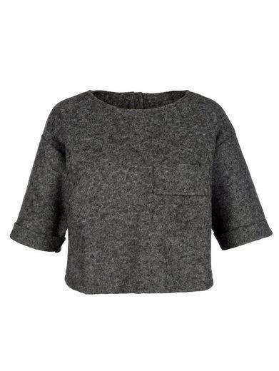 Alba Moda Bluse aus Kochwolle