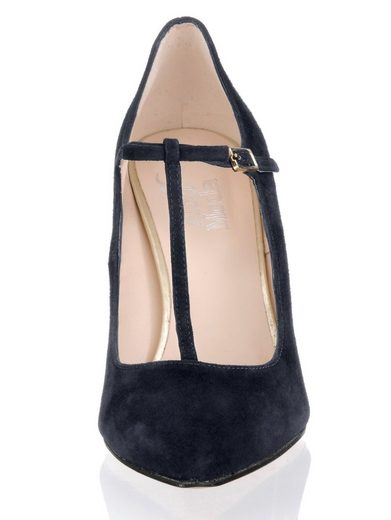 Alba Moda Pumps Of High-quality Goat Suede