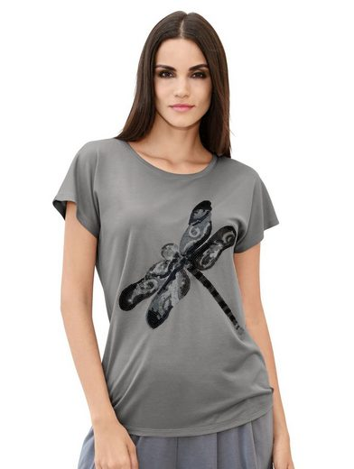 Amy Vermont Shirt With Dragonfly-motif