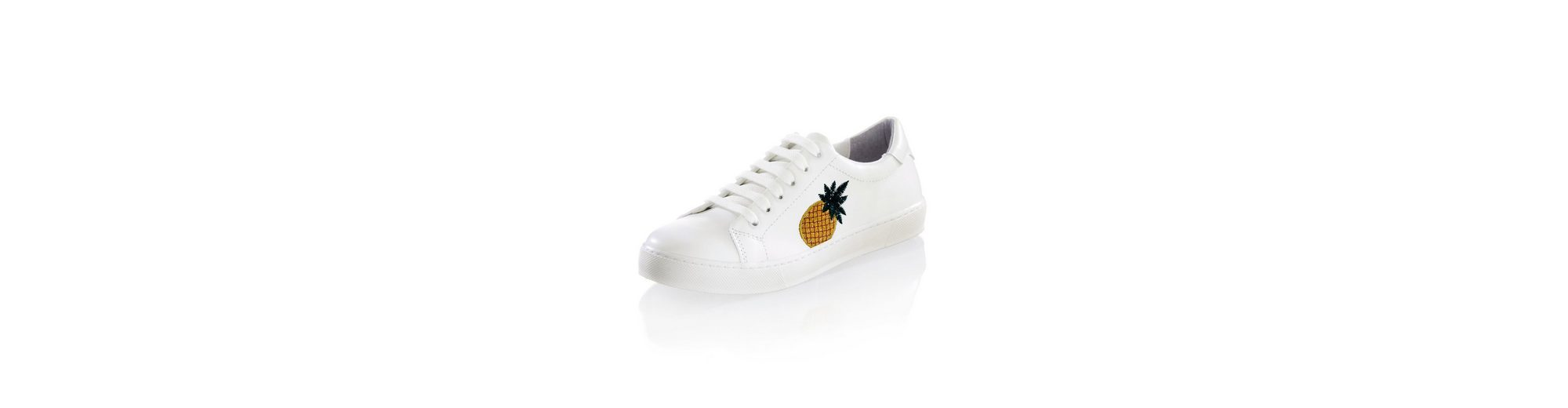 Preise Für Verkauf Alba Moda Sneaker setilich mit Ananas-Stickerei Billigshop KRYzjix