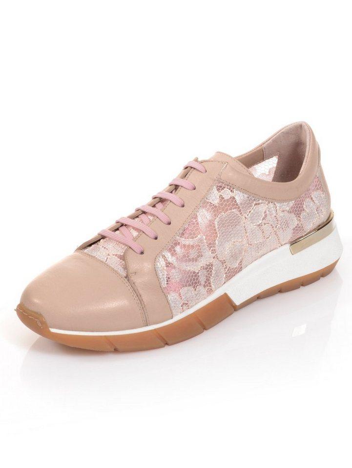d0fb36f31f624d Alba Moda Sneaker mit leicht transparentem Netzeinsatz online kaufen ...