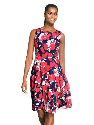 Alba Moda Kleid mit ALBA MODA exklusivem Print