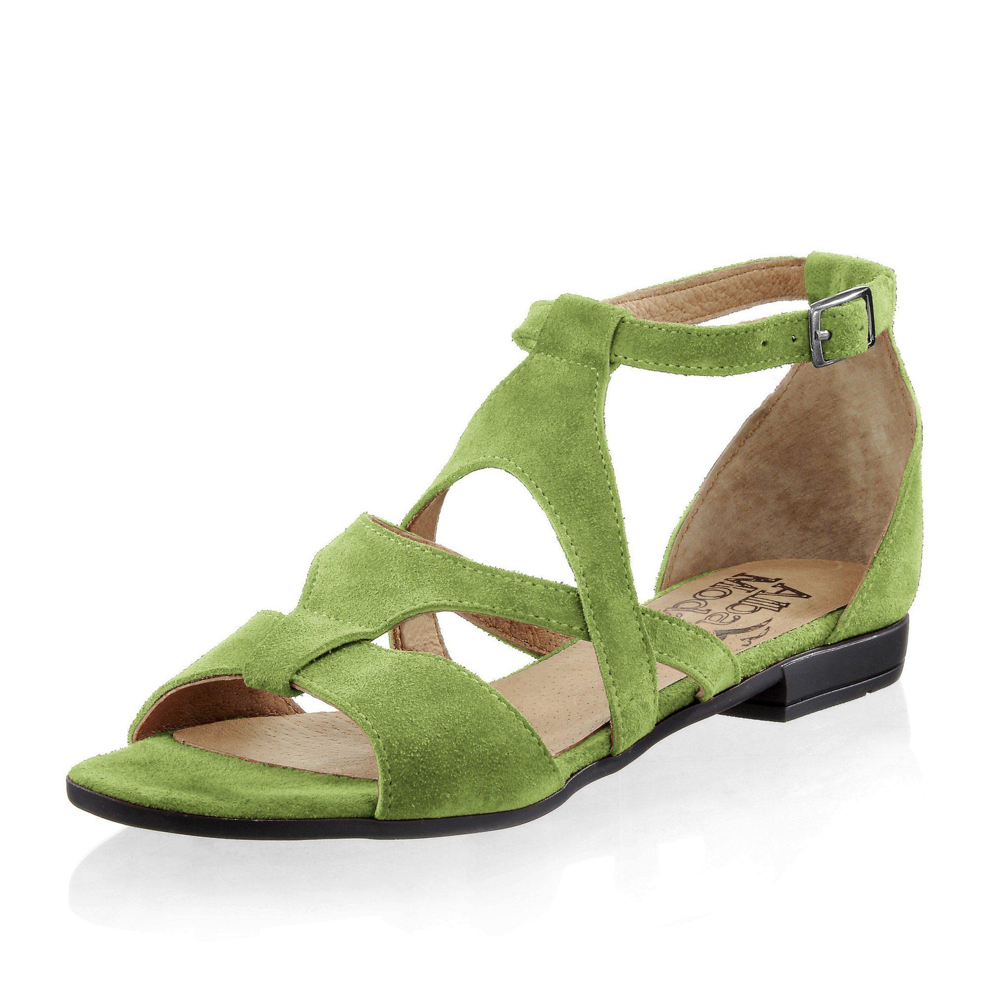 Alba Moda Sandalette, grün, mint