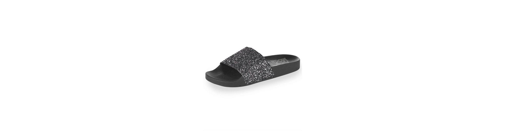 Alba Moda Pantolette mit Glitter