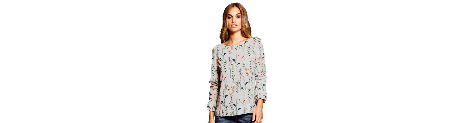 Alba Moda Druckbluse mit trendigem Blumendruck allover