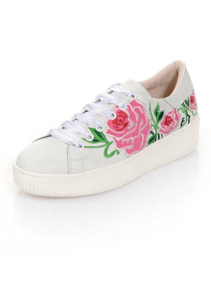 2d8d932bcf4e2d Alba Moda Sneaker mit Stickerei online kaufen