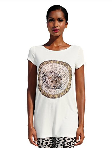 Alba Moda Shirt mit Ziersteinen