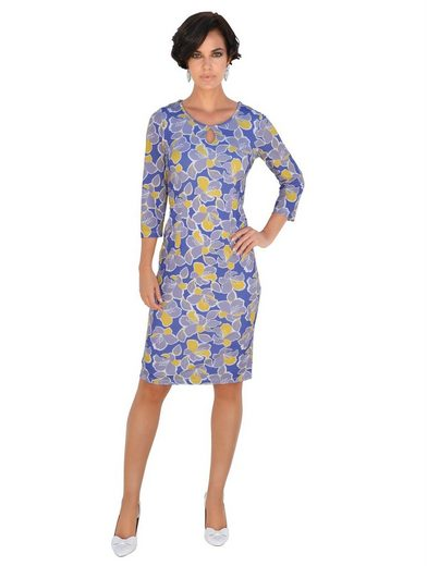 Amy Vermont Kleid in floralem Alloverdessin