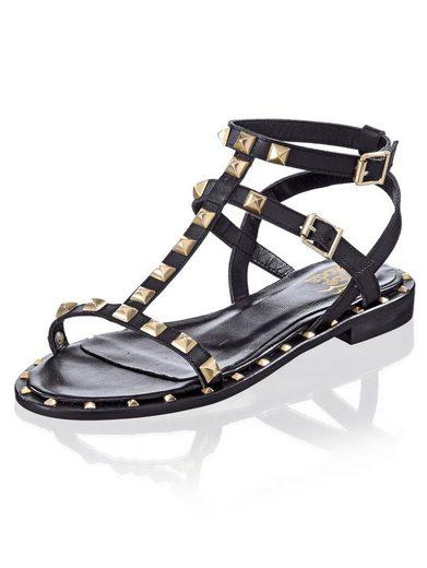 Alba Moda Sandalette mit Nietenverzierungen