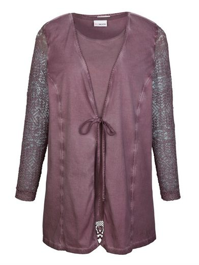 Miamoda Twinset Shirt Of Jacket And Top