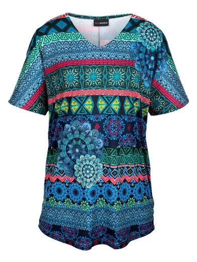 MIAMODA Longshirt mit überschnittenen Ärmeln