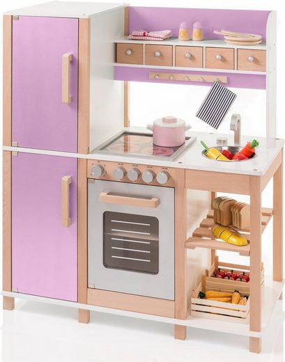 Sun Spielküche »natur/rosa« Holz