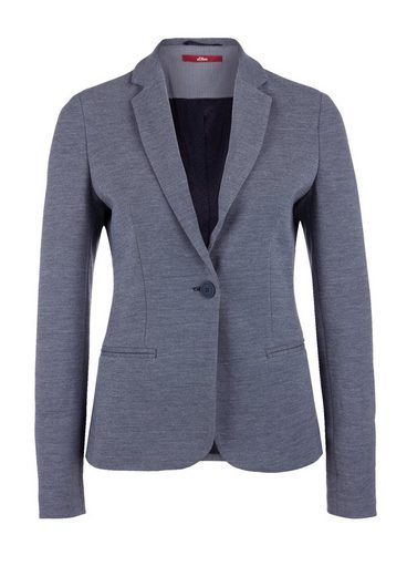 S.oliver Red Label Blazer In Meliertem Design
