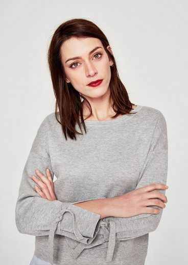 s.Oliver RED LABEL Pullover mit Blusen-Detail