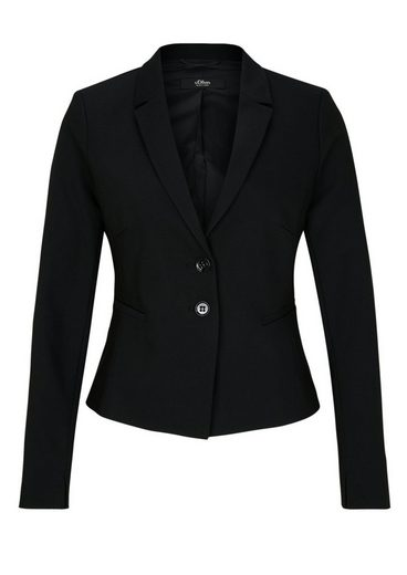 s.Oliver BLACK LABEL Kurzblazer im eleganten Look