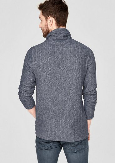 s.Oliver RED LABEL Meliertes Turtleneck-Shirt