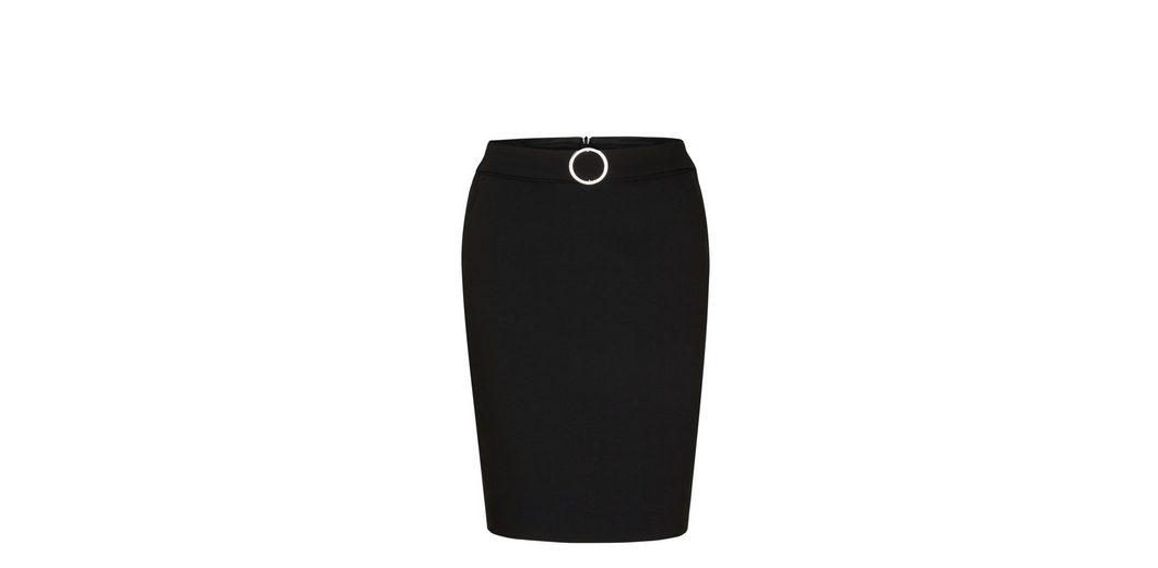 Preiswerter Preis Fabrikverkauf Billig Bester Laden Zu Bekommen s.Oliver BLACK LABEL Pencil Skirt mit Deko-Gürtel iDPBFitK
