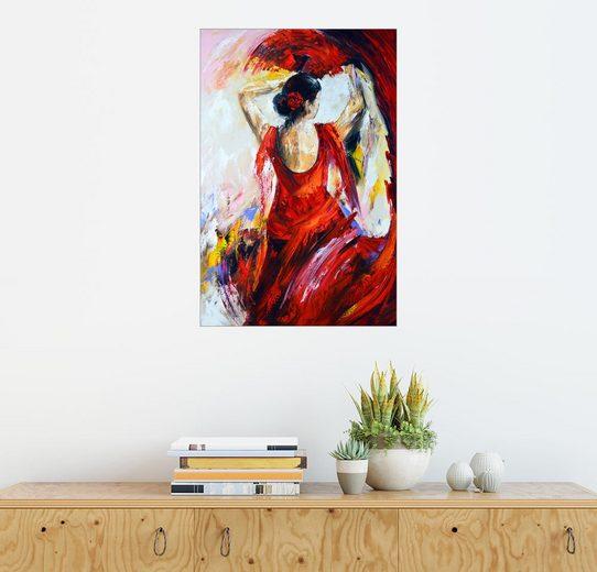 Posterlounge Wandbild - Theheartofart Gena »Flamenco«