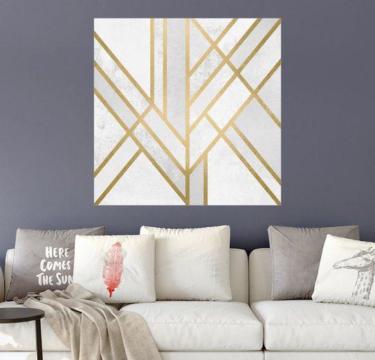 Posterlounge Wandbild - Elisabeth Fredriksson »Art Deco Geometry«