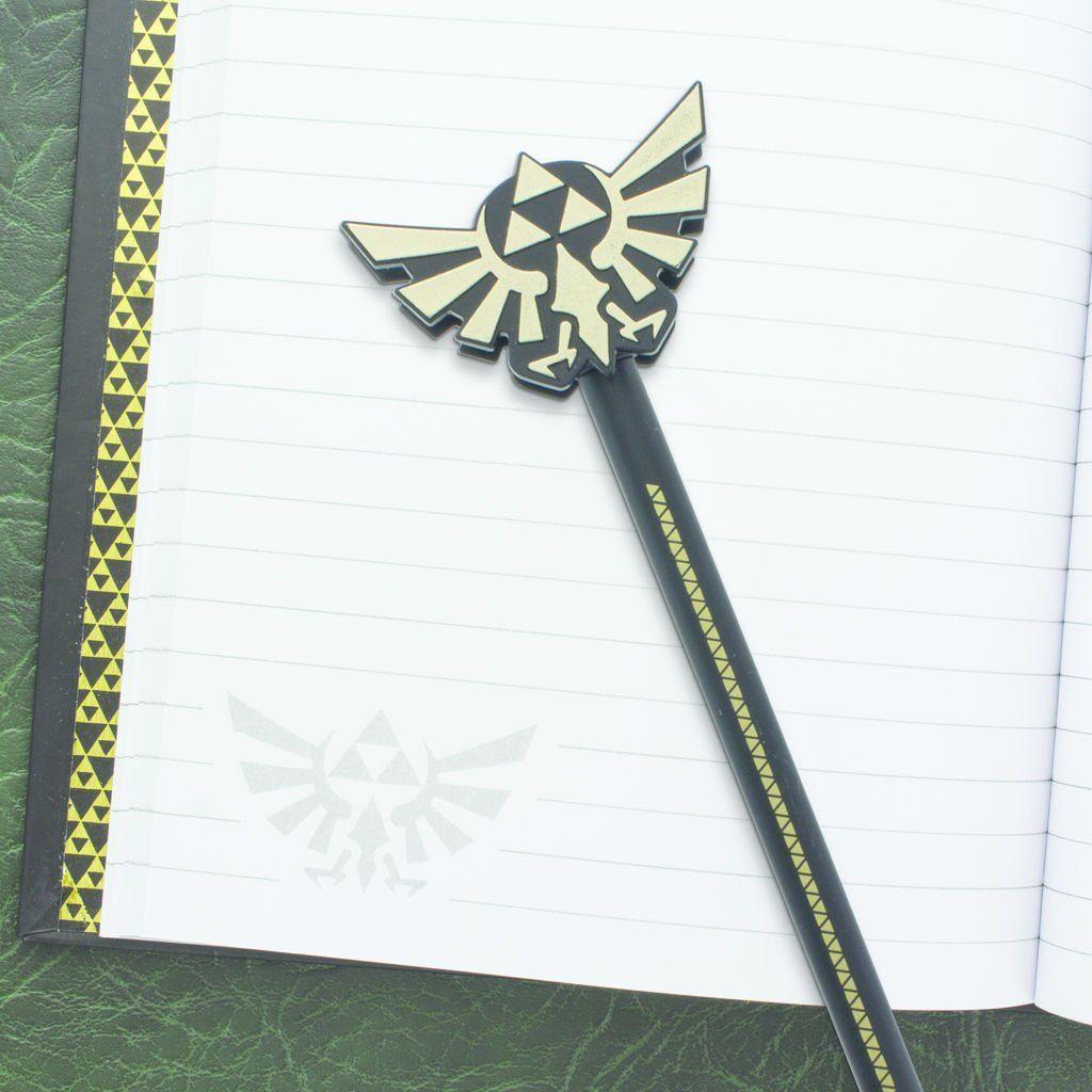 Paladone Fanartikel »Zelda Hyrule Stift & Stiftaufsetzer«