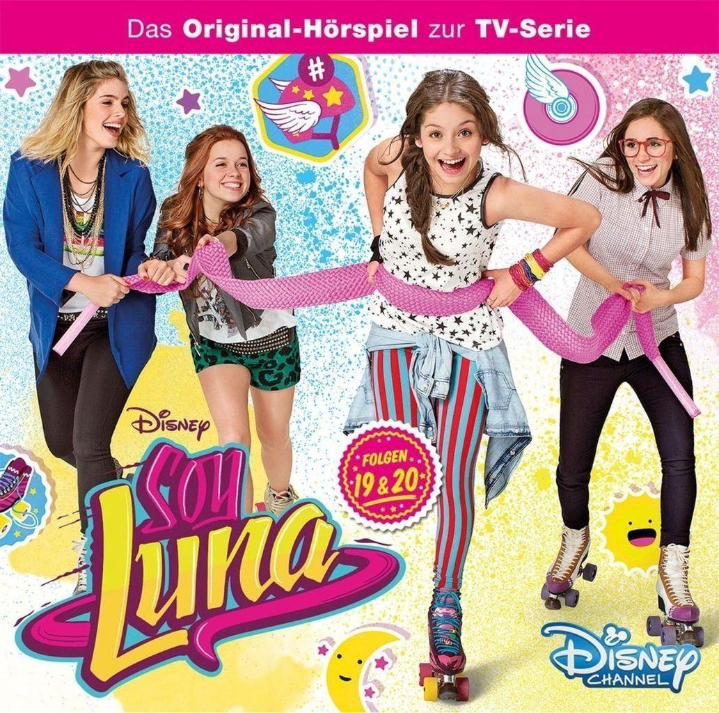 Kiddinx Hörbücher CD »Disney - Soy Luna Folge 19+20«