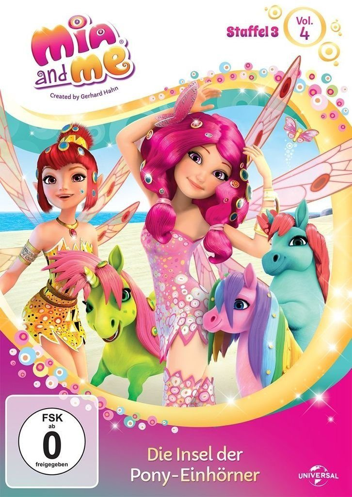 Universal DVD - Film »Mia and Me - Season 3 - Vol. 4 - Die Insel der Pon«