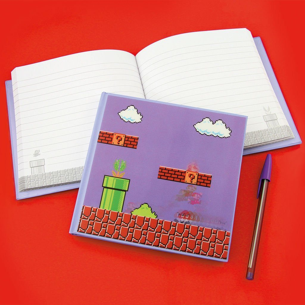 Paladone Fanartikel »Super Mario Bros. 3D Motion Notizbuch«