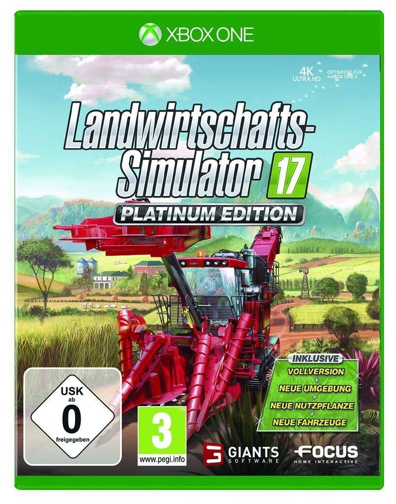 Astragon XBOX One - Spiel »Landwirtschafts-Simulator 17: Platinum Edition«