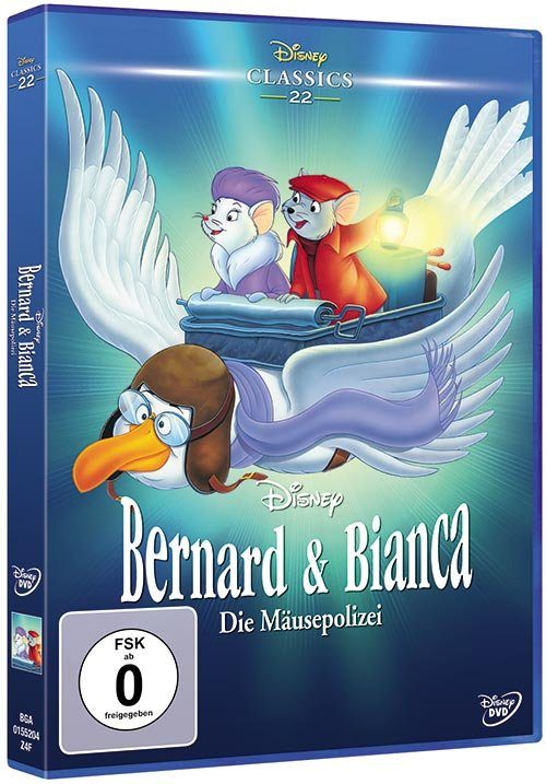 Disney DVD - Film »Bernard und Bianca (Disney Classics)«