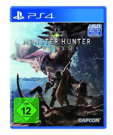 capcom playstation 4 spiel monster hunter world online. Black Bedroom Furniture Sets. Home Design Ideas
