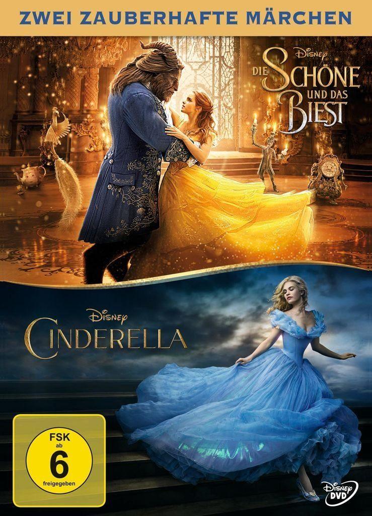 Disney DVD - Film »Die Schöne und das Biest / Cinderella«
