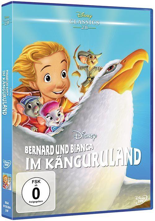 Disney DVD - Film »Bernard und Bianca im Känguruland (Disney Classics«