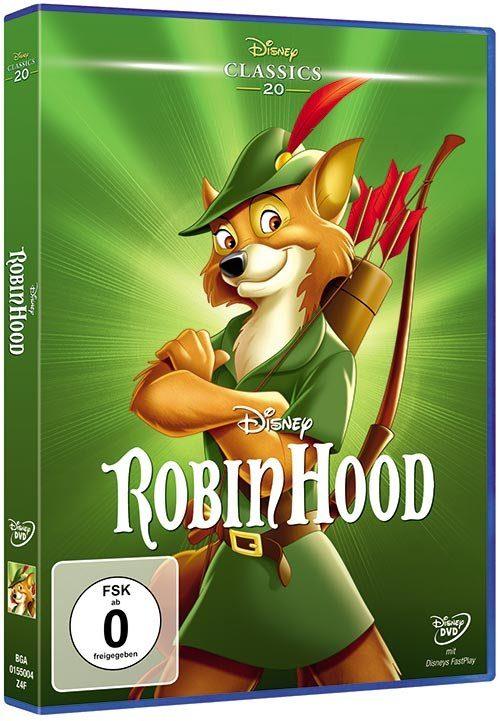 Disney DVD - Film »Robin Hood (Disney Classics)«