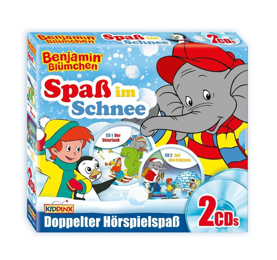 Kiddinx Hörbücher CD »Benjamin Blümchen - Spaß im Schnee!«