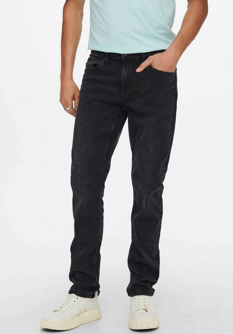 ONLY & SONS Regular-fit-Jeans »WEFT LIFE«