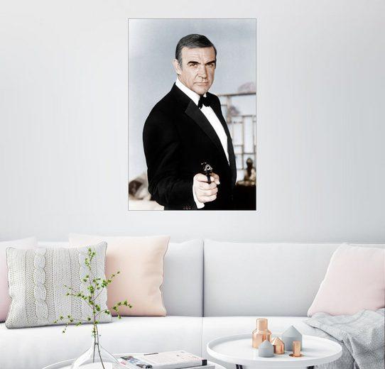 Posterlounge Wandbild »Sean Connery als James Bond«