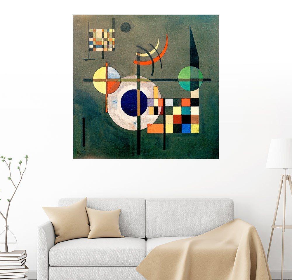 Posterlounge Wandbild - Wassily Kandinsky »Gegengewichte« | Dekoration > Bilder und Rahmen > Bilder | Holz | Posterlounge