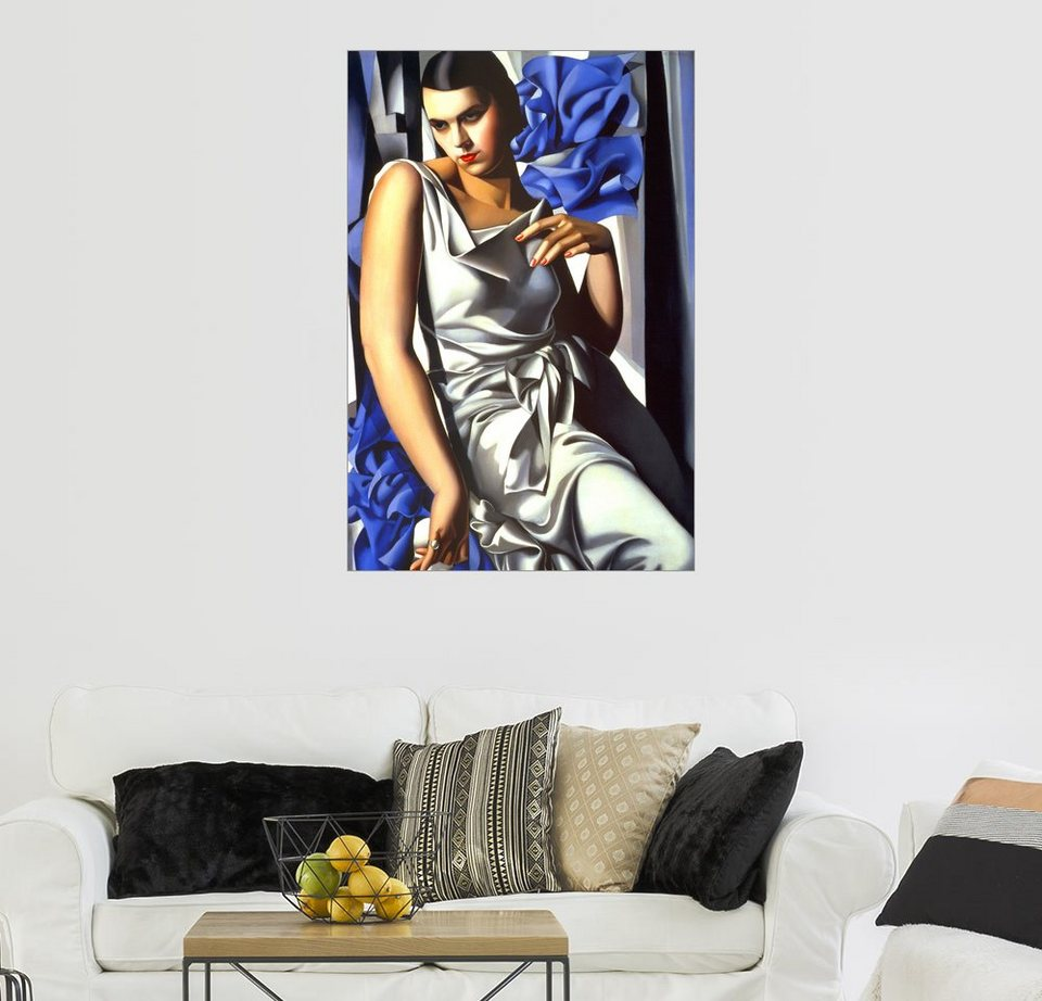 posterlounge wandbild tamara de lempicka portrait von frau m online kaufen otto. Black Bedroom Furniture Sets. Home Design Ideas