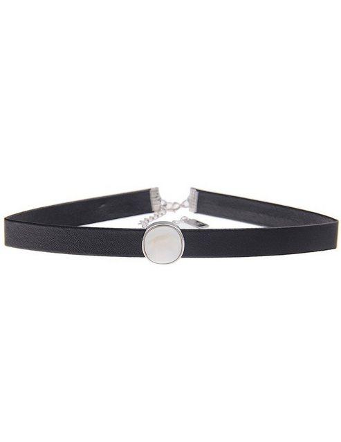 leslii -  Halskette mit Perlmutt-Anhänger