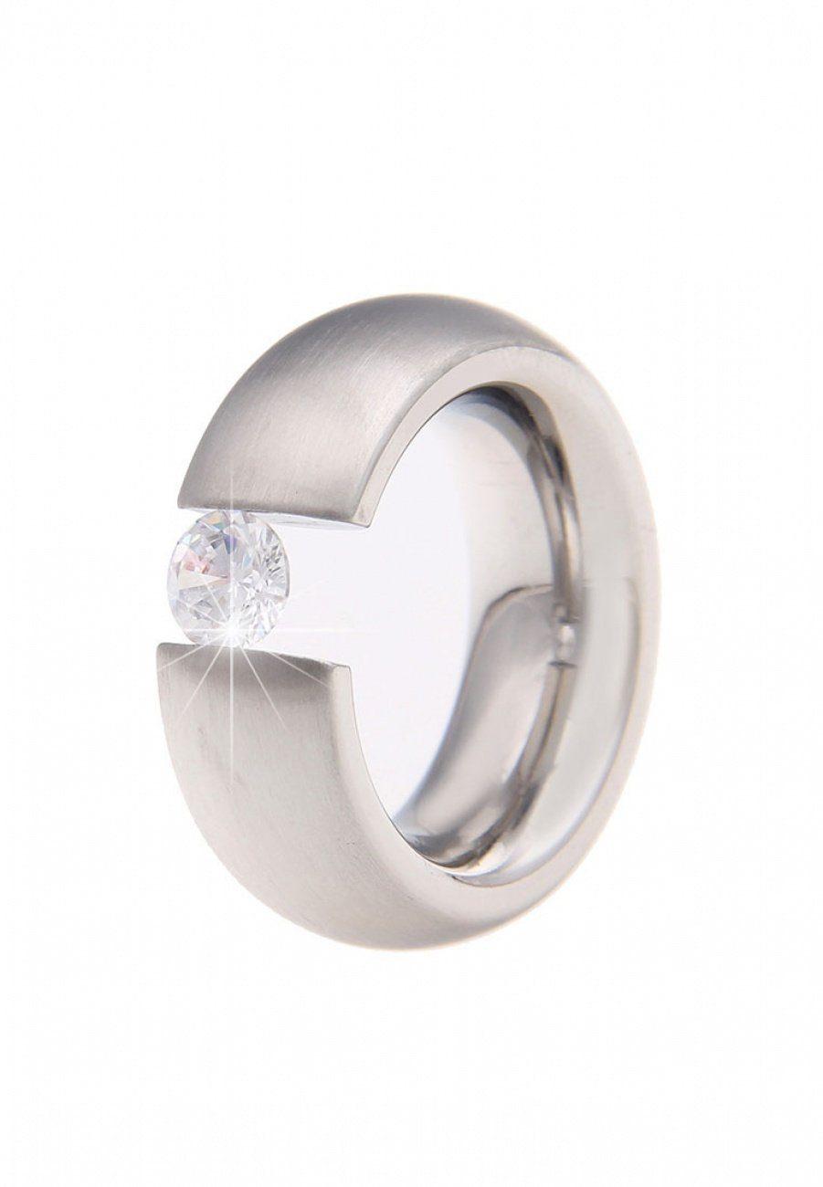 Leslii Ring mit elegantem Steinbesatz