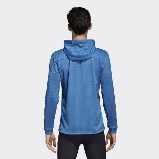 adidas Performance Longpullover Textured Workout Jacke