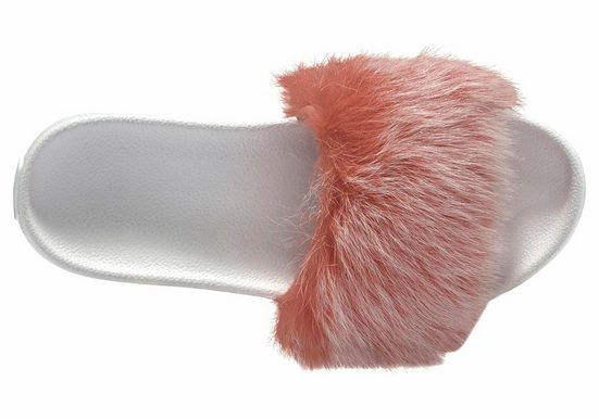 Ugg Royale Tipped Mule, With Great Fur And Braid