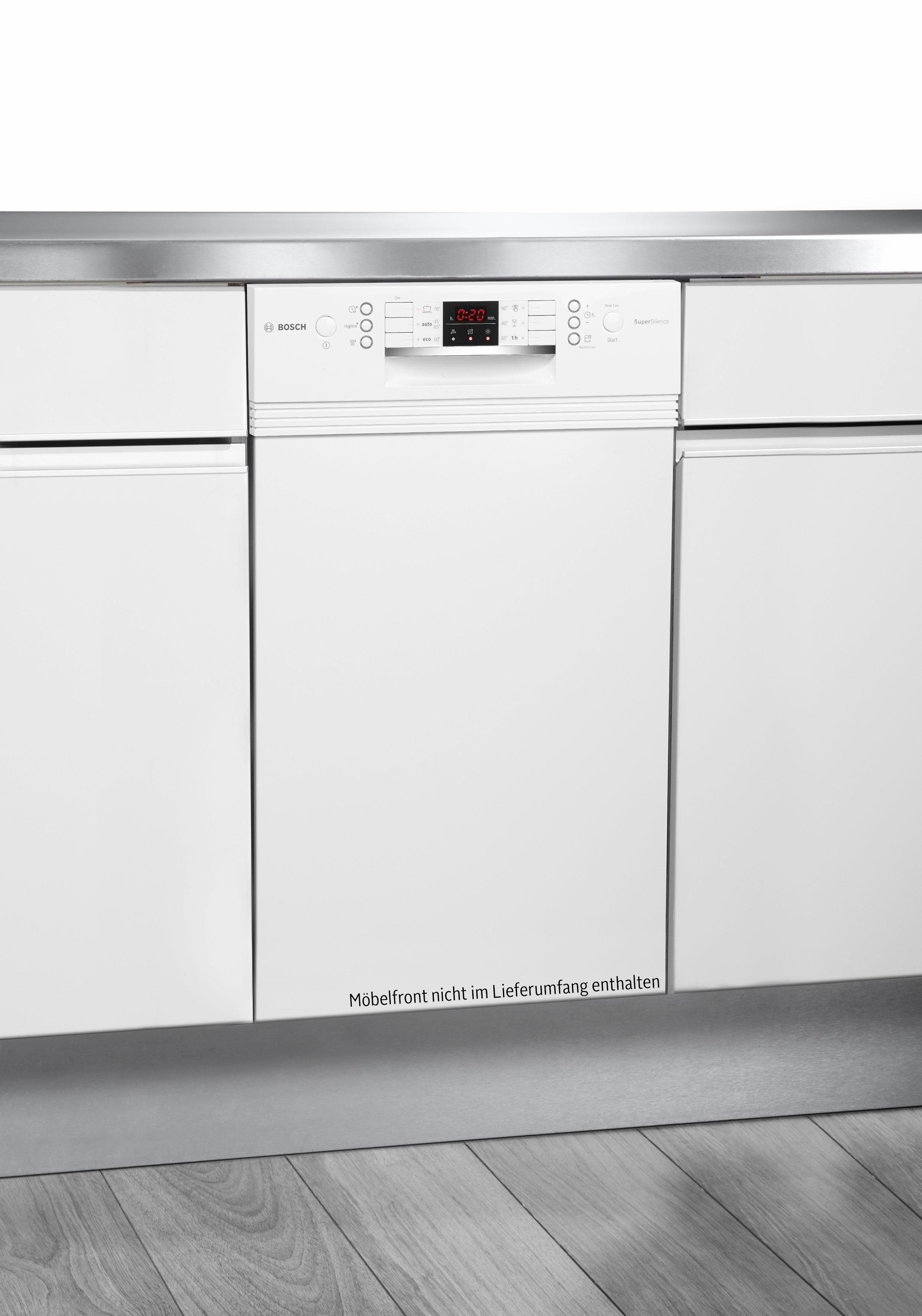 BOSCH teilintegrierbarer Geschirrspüler, SPI46MW01E, 9,5 l, 10 Maßgedecke, 45 cm breit