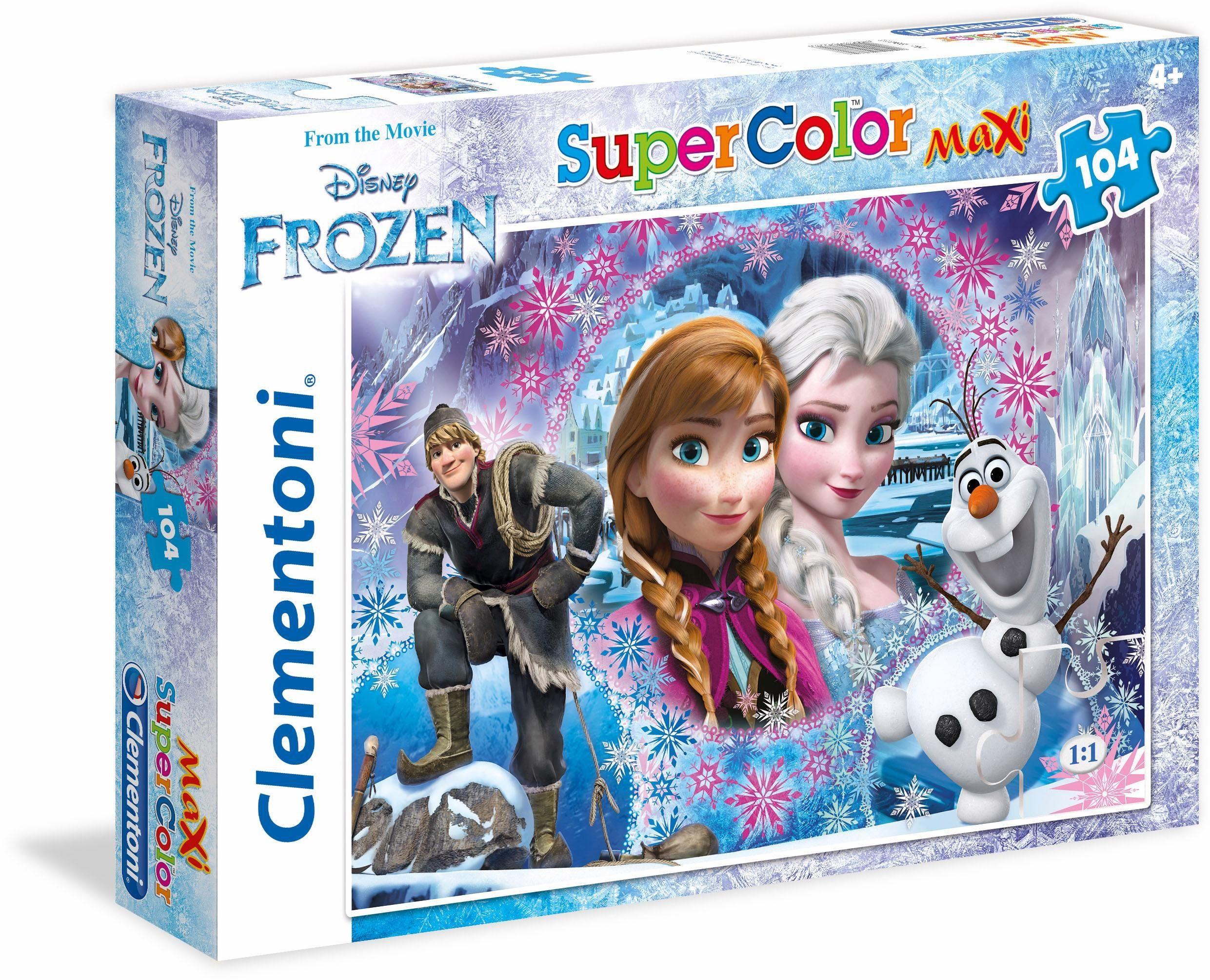 Clementoni Puzzle, 104 Teile, »Disney Frozen«